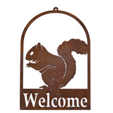 *W3943  Squirrel Welcome Signs