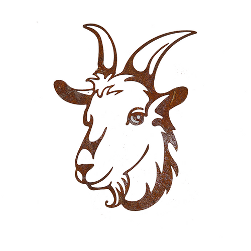 *W4344 Wall Art - Goat Decor