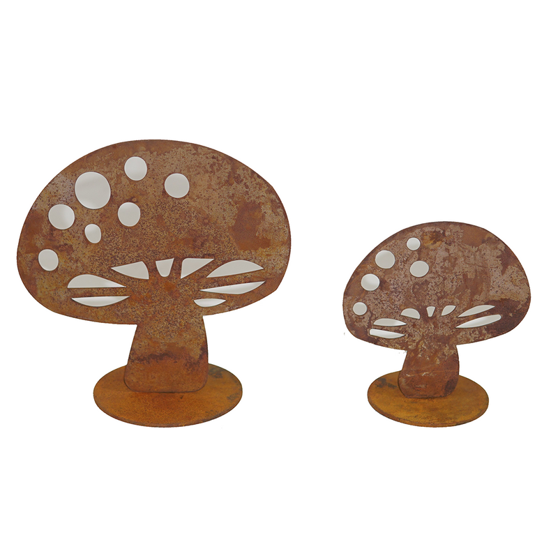 Mushroom with base - garden ornaments