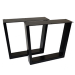 SS220W2 Trapezoid Coffee Table Legs, Wide Top, 1 Pair 40 X 45cm
