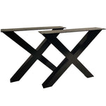 W5037D2 Heavy duty Coffee table X legs, 1 Pair  40cm tall 46cm wide