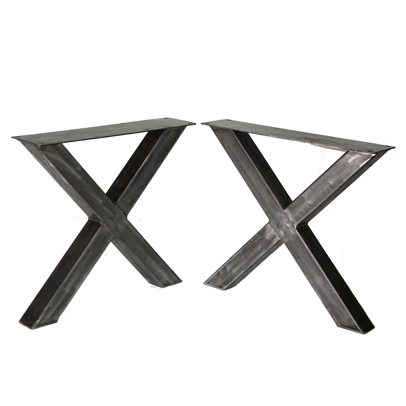 W5037D2 Heavy duty Coffee table X legs, 1 Pair  40cm tall