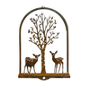 W4392 Fawn & Birch 3D Wall Art -  Rust & Raw Steel