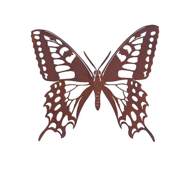 W4387A & W4387B Butterfly - Rust & Raw Steel