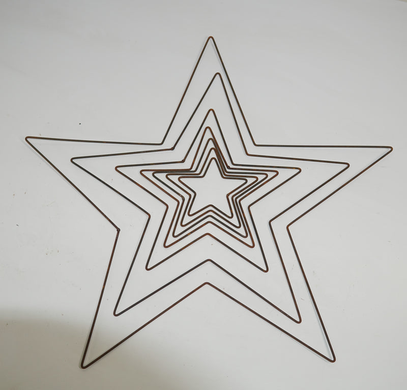LU0164A - LU0164G Iron wire Pentagram