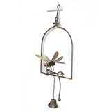 W3559B  Hanging bell with dragonfly(100901)