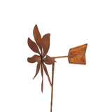 W3677-tail Wind spinner small stake with tail (in carton)