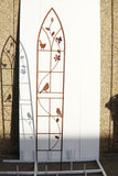 W3720-KD  Gothic window bird trellis