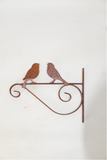 W4238 Wall hook with love birds