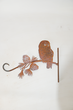 W4239 Wall hook with owl
