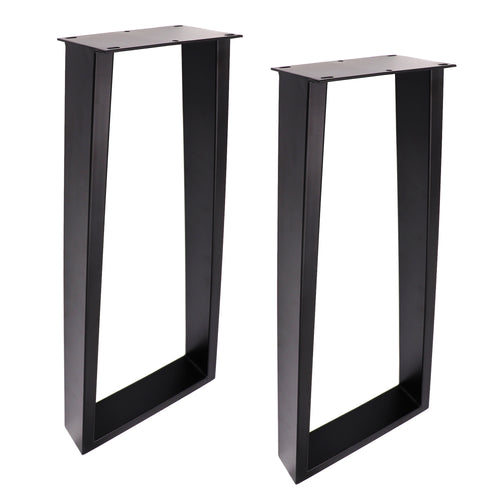 SS230 Trapezoid Console Table Legs, 1 Pair 71 X 20cm