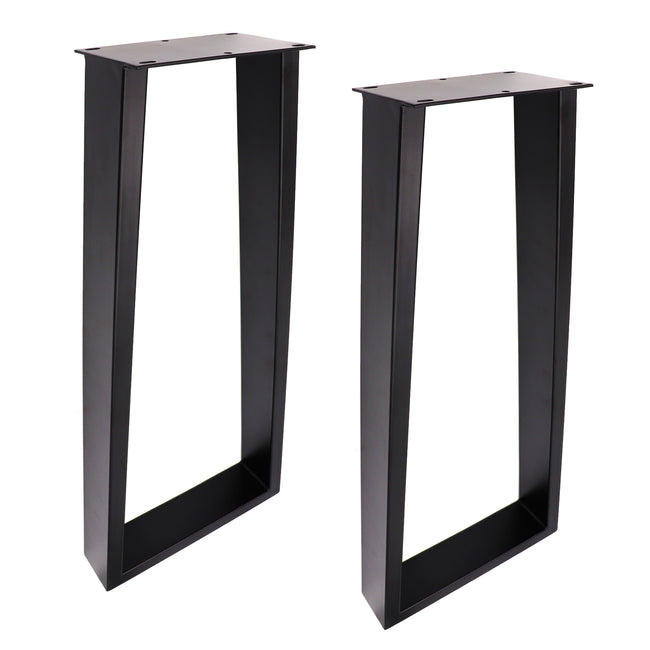 SS230 Trapezoid Console Table Legs, 1 Pair 71cm
