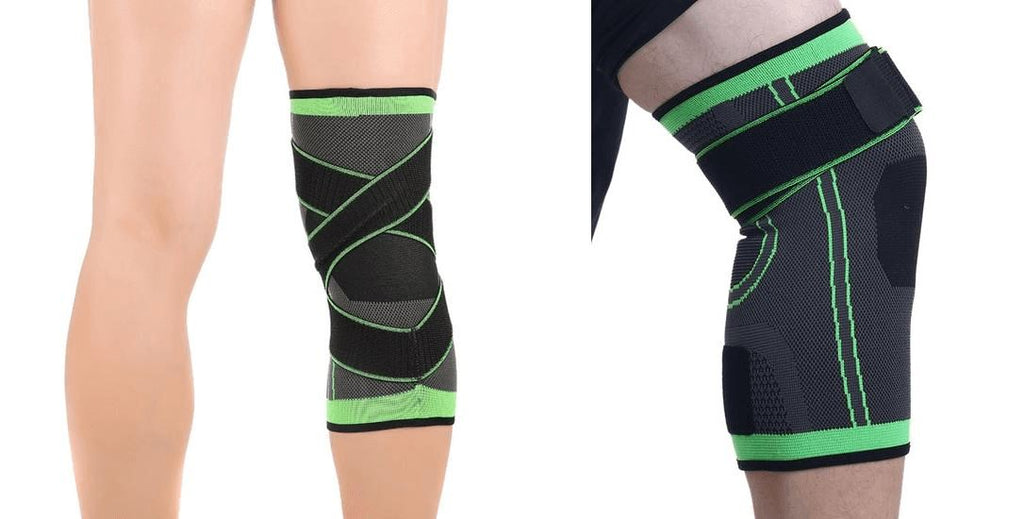 3D Knee and Elbow Compression Pads Fit Lifestyle For You Knee M