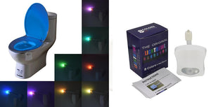 8 Colors Bowl Toilet Night LED Light with Motion Sensor Healthier Lifestyle 4 All