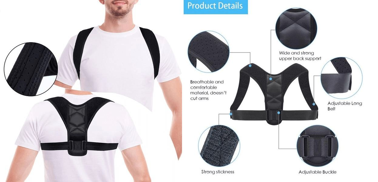 Adjustable posture back corrector Healthier Lifestyle For You