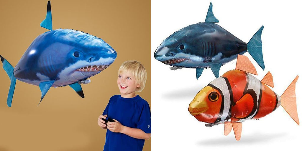 Air Swimming Fish - Remote Control Healthier Lifestyle 4 All Shark