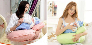 Comfy Nursing Pillow for Breastfeeding Healthier Lifestyle 4 All Pink