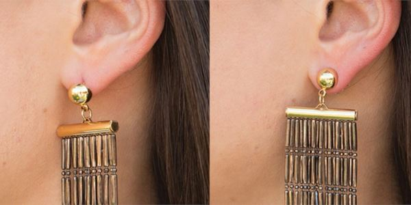 Copper Hypoallergenic Support Earring Backs Healthier Lifestyle For You Gold 1 Pair