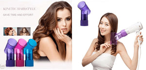 Hair Dryer and Spin Curl Diffuser Fit Lifestyle For You