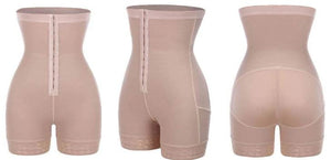High Waist Body Shaper - Tummy Control Shapewear Healthier Lifestyle 4 All Beige M