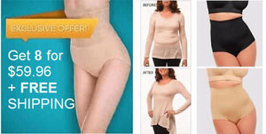 High waist ultra thin Shaping panties Healthier Lifestyle 4 All