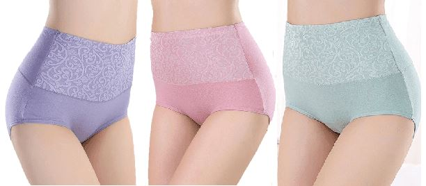 High waist ultra thin Shaping panties Healthier Lifestyle 4 All Bright Purple L