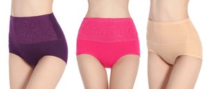High waist ultra thin Shaping panties Healthier Lifestyle 4 All Pink L