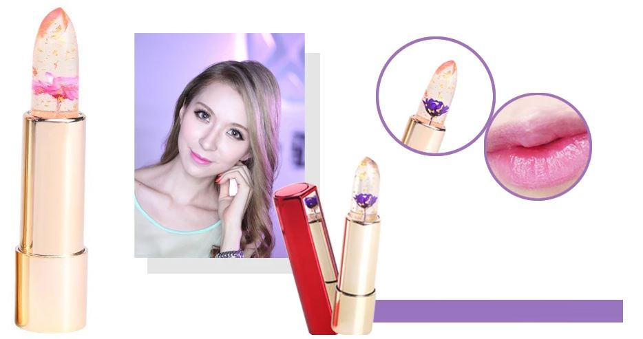 Lipstick Gloss Color Temperature Changes Lipstick Healthier Lifestyle 4 All Dream purple