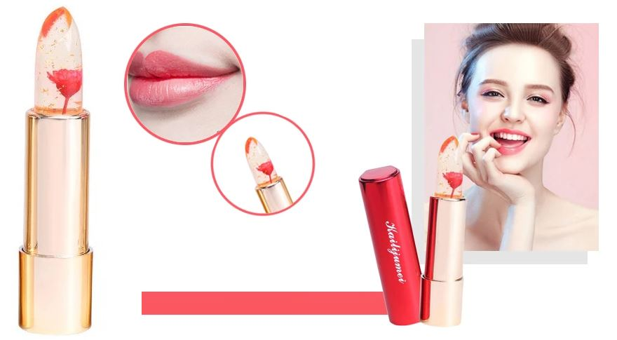 Lipstick Gloss Color Temperature Changes Lipstick Healthier Lifestyle 4 All Flame red