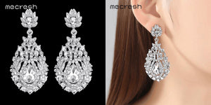 Long Crystal Earrings Healthier Lifestyle 4 All