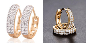 Luxurious Hoop Earring Healthier Lifestyle 4 All