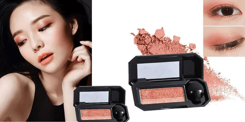 Perfect Dual-color Eyeshadow Healthier Lifestyle 4 All Maple Leaf