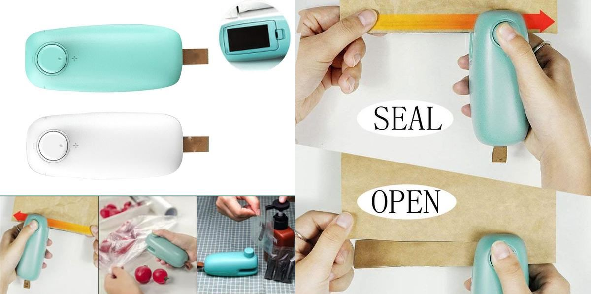 Portable Bag Sealer and Cutter Fit Lifestyle For You