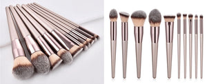 Professional Makeup Brushes Set (10 pieces) Fit Lifestyle For You