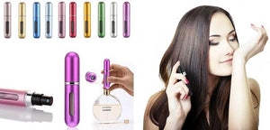 Refillable Mini Perfume Spray Bottle Beauty Fit Lifestyle For You Pink