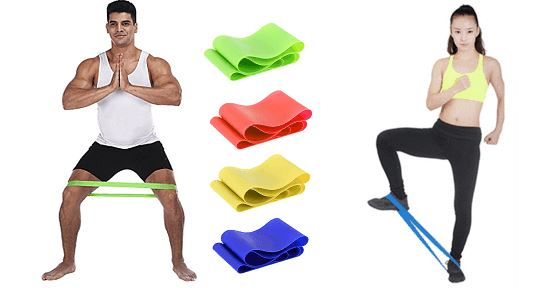 Resistance Band for Fitness & Yoga Healthier Lifestyle 4 All