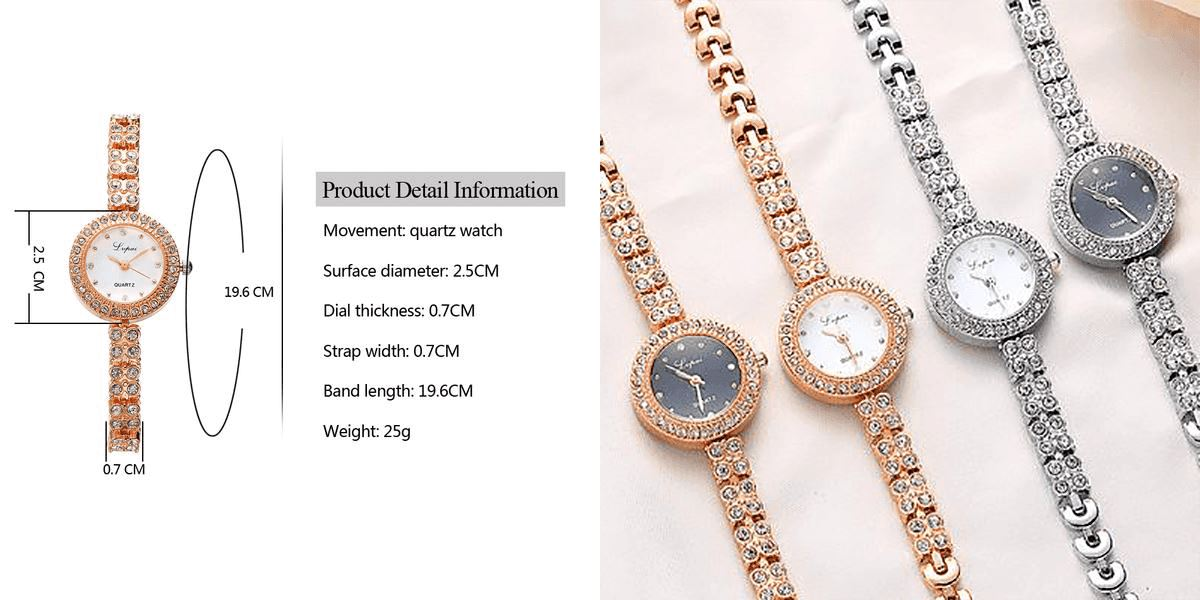 Rose Casual Watch Watch Healthier Lifestyle 4 All