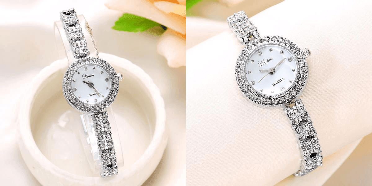 Rose Casual Watch Watch Healthier Lifestyle 4 All Silver White