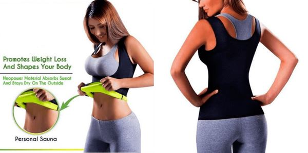 Shaper Sauna® - Vest WOMEN Fitness Fit Lifestyle For You