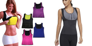 Shaper Sauna® - Vest WOMEN Fitness Fit Lifestyle For You Black S