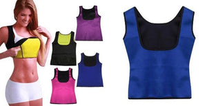 Shaper Sauna® - Vest WOMEN Fitness Fit Lifestyle For You Blue S