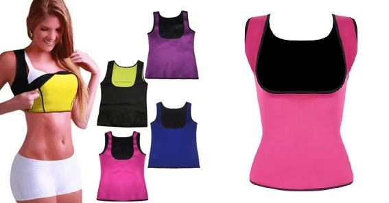 Shaper Sauna® - Vest WOMEN Fitness Fit Lifestyle For You Rose S