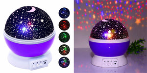 Star Night Light Healthier Lifestyle 4 All Purple