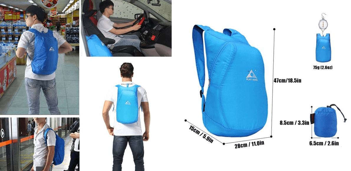 Tiny Foldable Backpack Fit Lifestyle For You