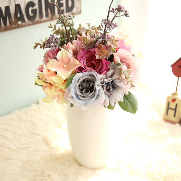 Artificial Flower For Wedding Decoration artificial flowers for wedding roses home decoration accessories flower