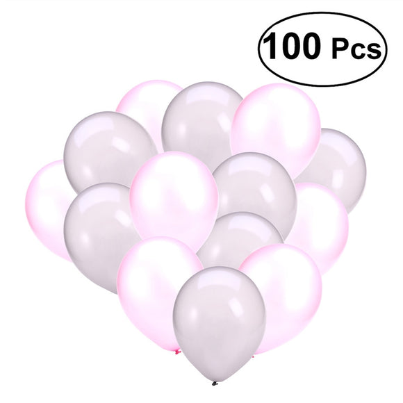 100 Pcs 12inch Round Balloons Latex Balloons for Party Wedding Decoration