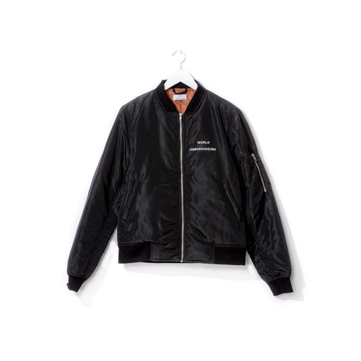 Bilen Bomber Jacket - Black-World Ambassadeurs
