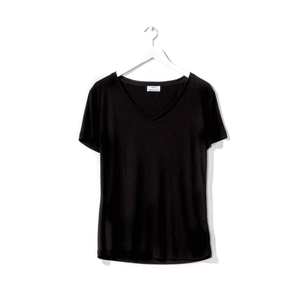 Eden Tee Black-World Ambassadeurs