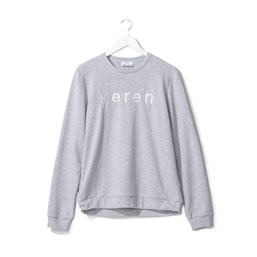 Keren Sweatshirt Grey-World Ambassadeurs