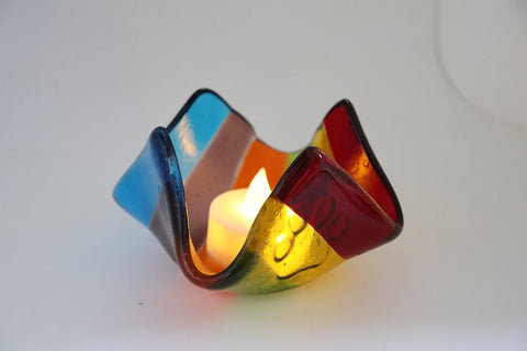Rainbow Night Light with Paw Detail